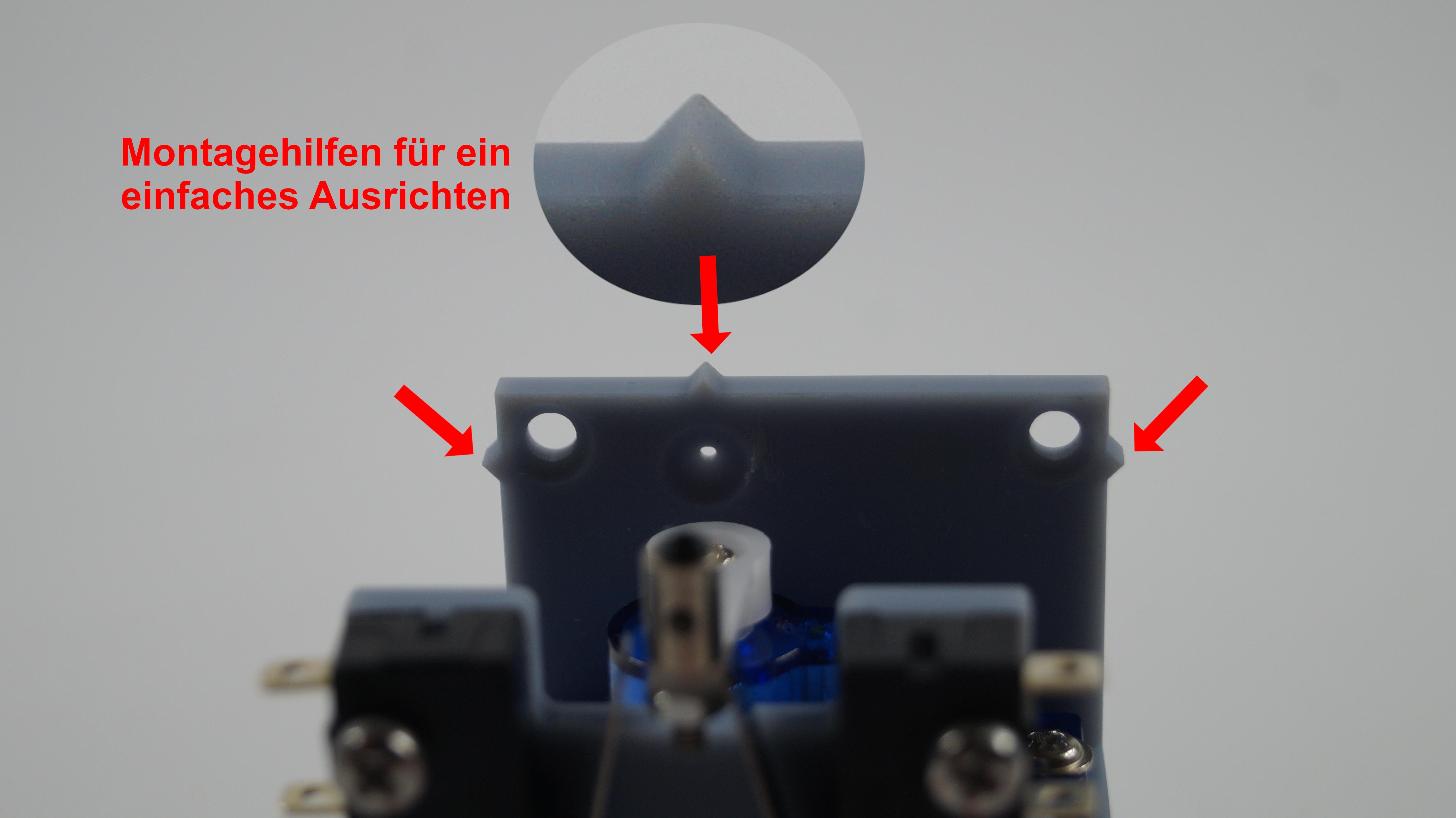 Servo Unterflur Weichenantrieb ( H0 , TT , N ) BAUSATZ